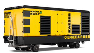 The M500-2 compressed air giant for refineries and large industrial companies