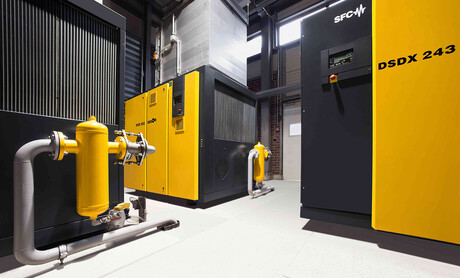 Vallourec in Düsseldorf optimises its compressed air system with Kaeser rotary screw compressors