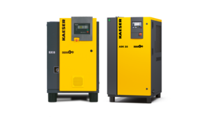 Kaeser rotary screw compressors with belt drive